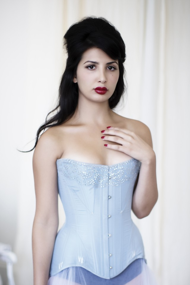 Gusseted Edwardian Demibust Corset