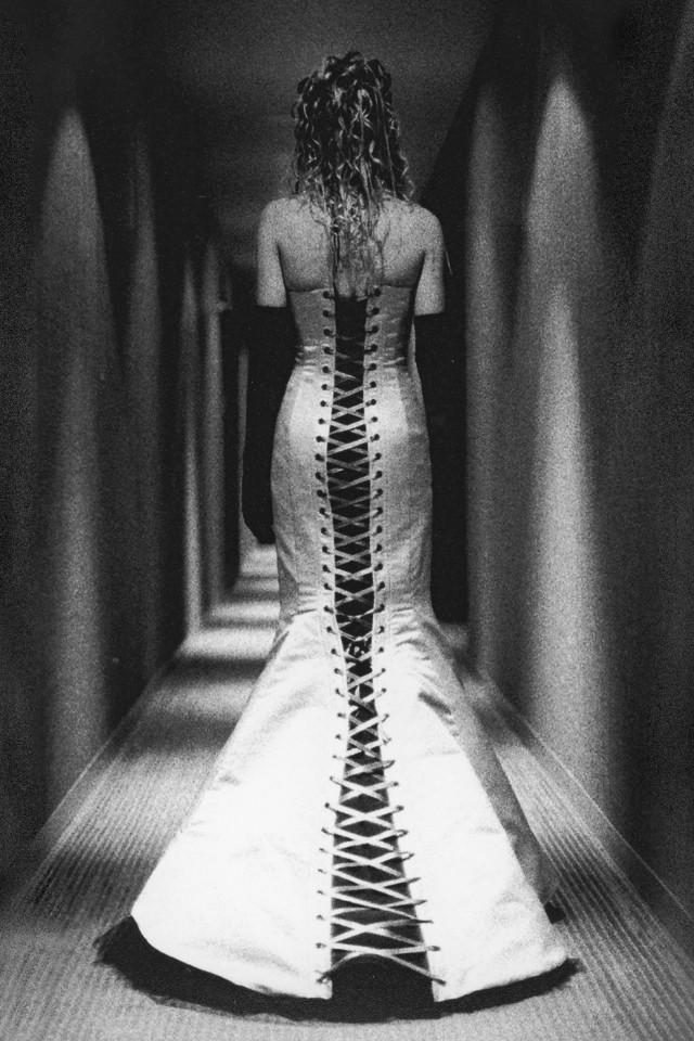 Corseted Wedding Dress